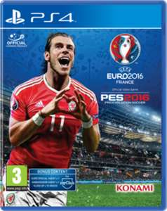 UEFA EURO 2016 Pro Evolution Soccer (PS4) £2.88 Delivered @ jdmutd via ebay