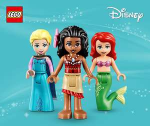 500 extra Clubcard points when you spend £30 + on Selected LEGO Disney Princess @ Tesco Direct (inc LEGO Disney Princess Moanas Ocean Voyage 41150 for £29.15)