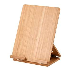 GRIMAR 3-position tablet stand in sustainable bamboo wood - £9 @ IKEA