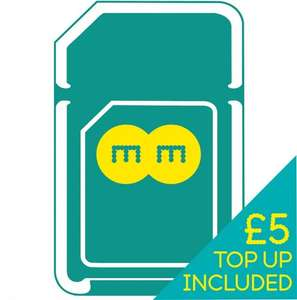 EE 4G Pay As You Go Multi SIM Plus £5 credit - 99p @ EE / ebay