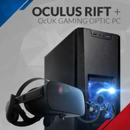 GTX 1080 Gaming Desktop+ Occulus Rift+Touch - £1269 @ Overclockers +£14.10 delivery