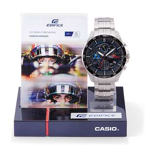 Casio Edifice Men's Scuderia Toro Rosso Steel Watch @ H.Samuel £97.20