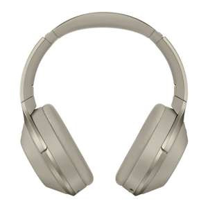 Sony MDR-1000X Wireless Noise Cancelling Headphones - Beige £5 off with code @ Eglobal central