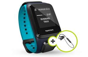 TomTom Runner 2 Cardio + Music + Bluetooth Headphones £118.99 @ tomtom