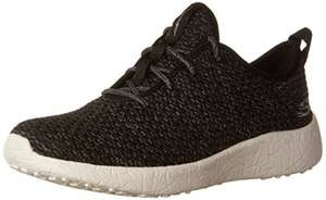 Skechers Women's Burst low top Trainers - various sizes in black from £18.60 prime/£23.60  non prime @ Amazon