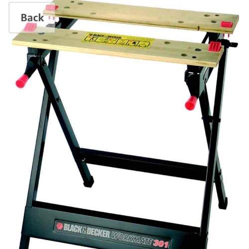 BLACK+DECKER WM301 Workmate Workbench The BLACK+DECKER WM301 Workmate. £12 for prime holders @ Amazon