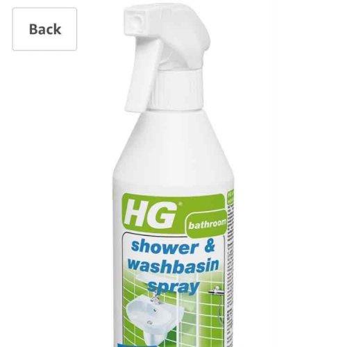 HG shower and basin spray