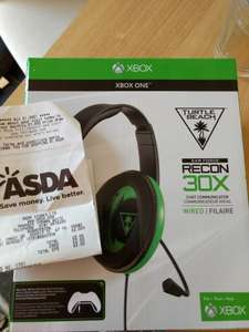 Xbox Turtle Beach Recon 30x chat headset, £2 at Asda
