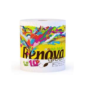 *Probably a misprice* Renova 100 Percent Recycled Paper Towel Giga Roll Single (Pack of 12) for £4.05 (Prime) @ Amazon
