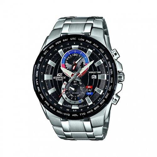 Casio Edifice EFR-550D-1AVUEF Men's Black Dial Stainless Steel Bracelet Watch £90 @ HSamuel