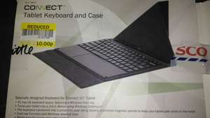 Linx 10 (Connect 10) keyboard case - Tesco discontinued line so selected availability