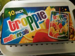 Juice pouches instore at Poundstretcher for £1