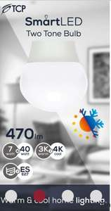 Tcp smart led two tone bulbs instore at Asda (cwmbran) for £2.50