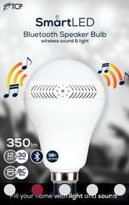 Tcp smart led bluetooth speaker bulb instore at Asda (cwmbran) for £7.50