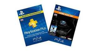 Battlefront Season Pass (PS4) + PlayStation Plus 3 Month Membership £15.99 @ amazon