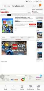 LEGO City Undercover (PS4) at Base.com for £22.84