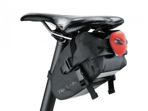 Topeak Bicycle Wedge Saddle DryBag  -  Large - 1.5L  BLACK £7.72 @ Gearbest