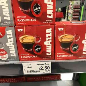 lavazza pods £2.50 should be national instore @ ASDA