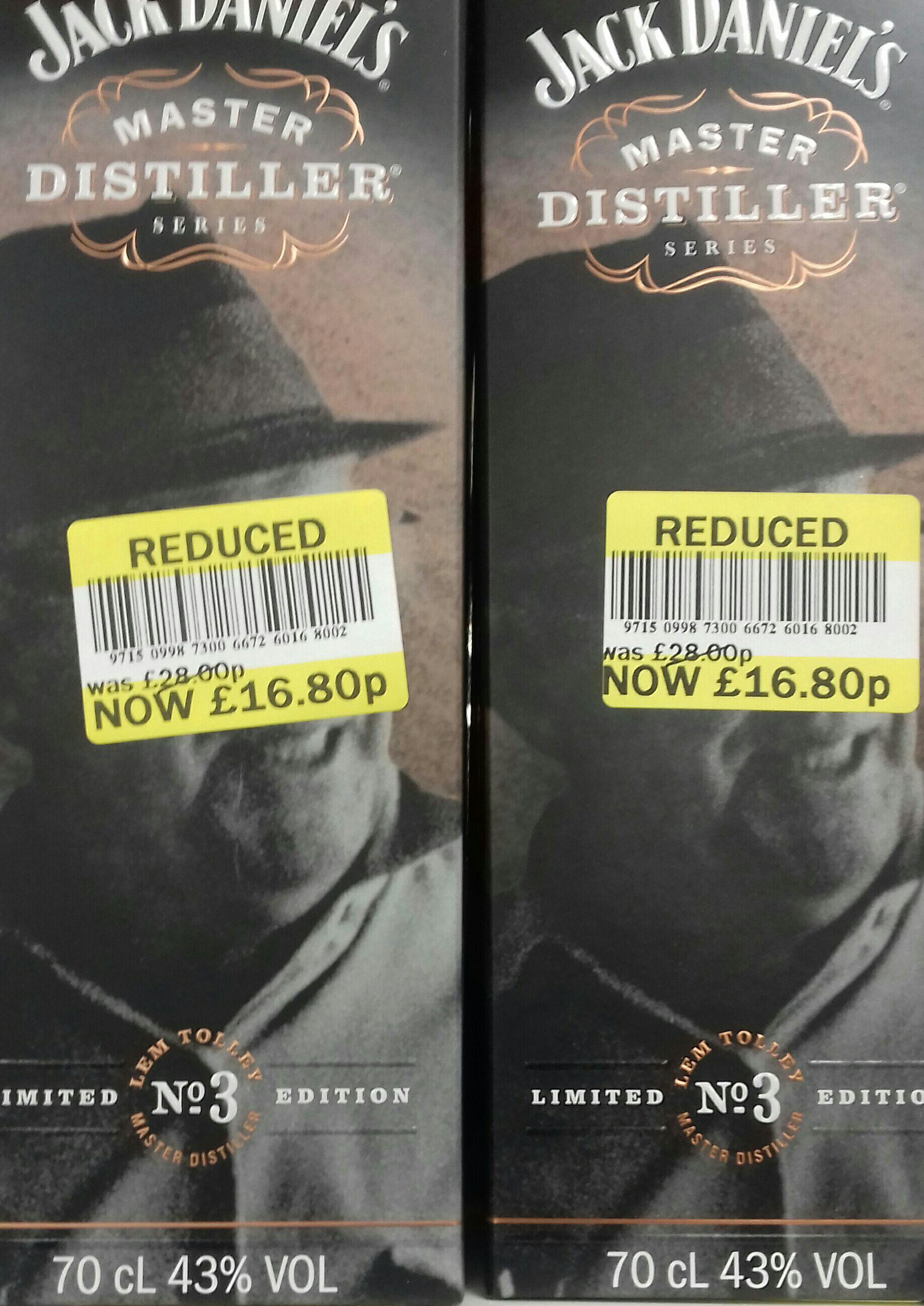 Jack Daniels master distiller - £16.80 instore @ Tesco Clitheroe