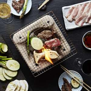 2 for 1 on yakiniku barbecue dinner until 31/07 @ Sakagura (Soho restaurant)
