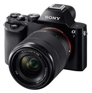 Sony a7 Mirrorless Camera + 28-70mm Lens + 500 Free photo Prints + 2 Years Warranty + Free Next Day Delivery & £100 Cashback (makes it £899) £999 @ Jessops