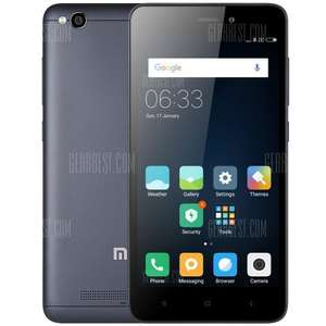 Xiaomi Redmi 4A 4G Smartphone - GLOBAL VERSION 2GB RAM 32GB ROM GRAY WITH BAND 20 SUPPORT £75.68 @ gearbest