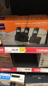 Binatone Shield 6015 call blocker triple £13.75 @ Tesco - Dover