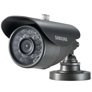 SAMSUNG SCO-2040R COMPACT BULLET CCTV CAMERA 650TVL IR LED HIGH RESOLUTION SMALL NTSC BUILT-IN FIXED LENS 8MM IP66 DNR 12VDC £19.99 prime / £23.98 non prime Sold by Digiteck Limited and Fulfilled by Amazon