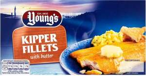 Young's Scottish Kipper Fillets with Butter (170g) ONLY £1.00 @ Iceland