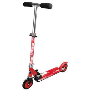 Avigo red or pink inline folding scooter was £23.99 now half price at £11.99 @ Toys R Us