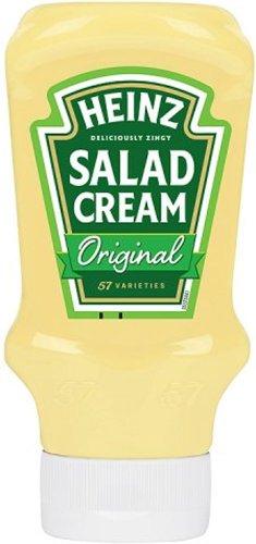 Heinz Salad Cream (425g) was £1.50 now £1.00 @ Iceland
