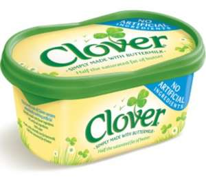 Clover spread original and lighter 500g £1 at Morrisons
