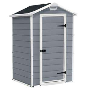 Keter Manor Outdoor Plastic Garden Shed 4x3 ft £149.99 @ Amazon