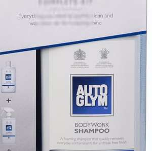 AutoGlym Bodywork Wash & Protect Kit £12 @ B&Q