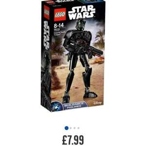 LEGO Star Wars - Various Buildable Figures Reduced starting at £4.99 @ Argos