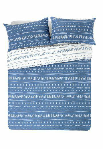 HOME Blue and White Sticks Bedding Set - Kingsize £6 @ Argos