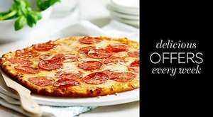 PIZZA MEAL DEAL FOR £10 at M&S (2 pizzas, 2 sides and a dessert)