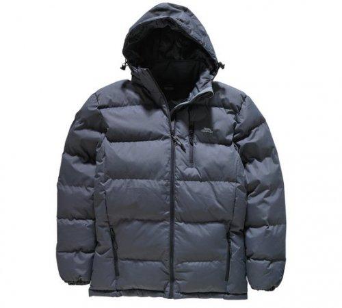 Trespass Men's Grey Puffer Jacket - Argos for £16.99