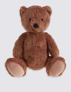 "Classic Charlie Bear (15"") was £12 now £4 C+C @ M&S (also Classic Piglet Plush £4 / Winnie The Pooh Comforter £4 + more in OP / 1st Post )"