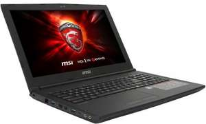 "MSI GL62 7QF Gaming Laptop + Backpack Intel Core i5, 8GB RAM, 1TB, NVIDIA GTX 960, 15.6"" Full HD £599.98 @ Ebuyer"
