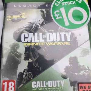Call of Duty Legacy Edition Xbox One - £10 instore @ Smyths (Gloucester)