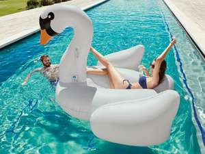 Inflatable swan or flamingo (190 cm height) for £14.99 @ Lidl
