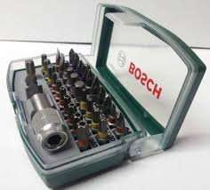 Bosch Screwdriver Bit Set [32 Pieces] £6.98 @ B&Qs