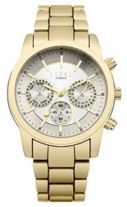 Womens Lipsy silver / gold watch was £21.95 now £7.76 delivered with Prime / £11.75 non prime delivered @ Amazon