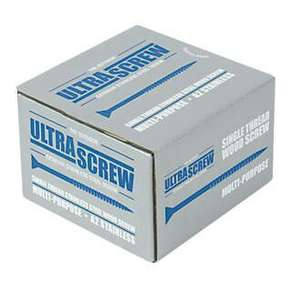 Stainless steel 90mm screws 100 pack at Screwfix for £2.49 (Click & Collect) @ Screwfix