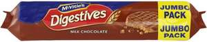McVitie's Digestives - Milk or Dark Chocolate Jumbo Pack (500g) was £2.29 now £1.14 @ Tesco