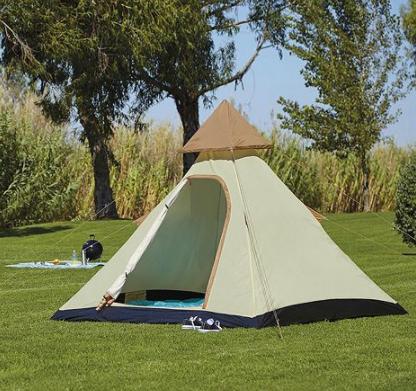 Tesco 4 Man Teepee Tent £25 @ Tesco (Free C&C)