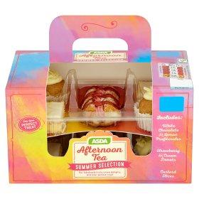 Afternoon Tea Profiteroles, Cream Donuts & Custard Slices £3 @ Asda