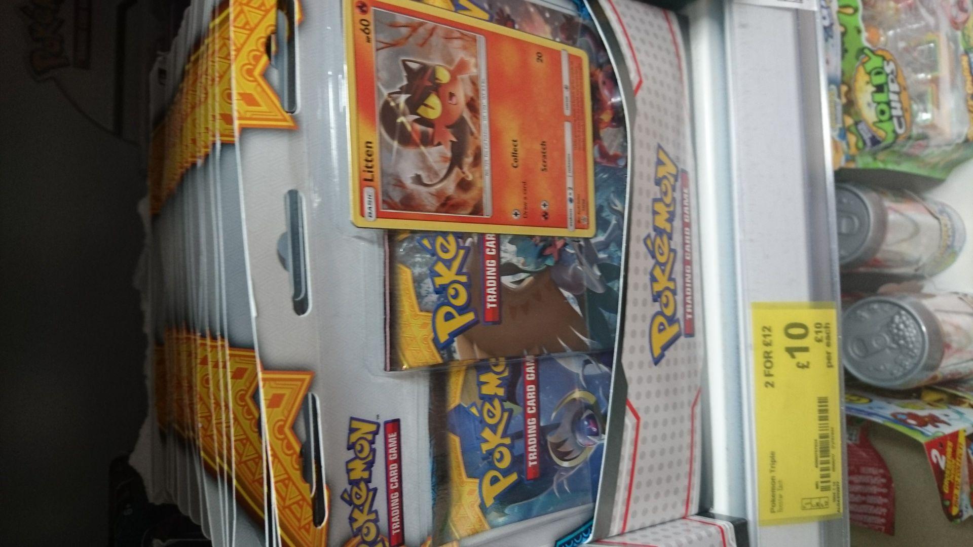 Pokemon TCG cards 2 for £12  @ Asda Trafford Center