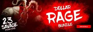 Dollar Rage Bundle (23 Steam keys) 99p @ Bundle Stars